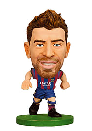 Soccerstarz - Barcelona Gerard Pique - Home Kit (eng/asian) (2015 Version) /figures Figurines and Sets