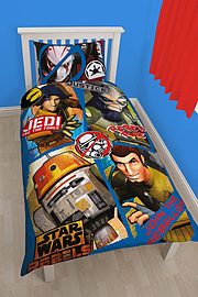 Disney Star Wars Rebels Tag Single Panel Duvet Set /homeware Home - Accessories