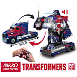 Nikko Transformers R/C Nikko Autobot Optimus Prime screen shot 1