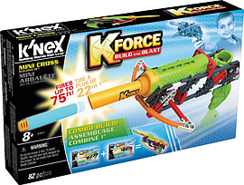 K Force Blaster Asst (K-10X, Mini Cross) Figurines and Sets