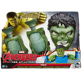 Avengers Age of Ultron Hulk Muscles and Mask Figurines and Sets