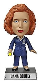 X-Files Dana Scully Wacky Wobbler Figurines and Sets