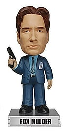 X-Files Fox Mulder Wacky Wobbler Figurines and Sets