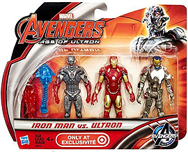 Avengers Battle Pack Iron Man vs Ultron Figurines and Sets