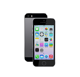APPLE IPHONE 5S 16GB GREY SIM FREE UNLOCKED SMARTPHONE Phones