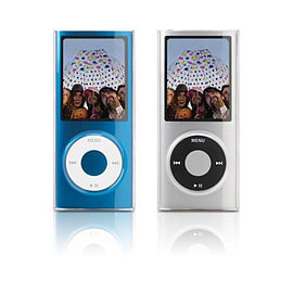 Icebox Crystal Clear Cover for iPod Nano 4G Audio