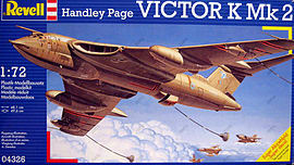 Handley Page Victor K Mk.2 1:72 Scale Model Kit Figurines and Sets
