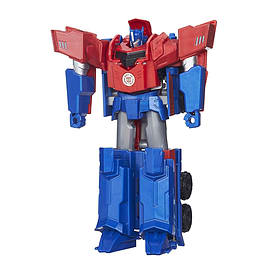 Transformers Robots In Disguise - Hyper Change Optimus Prime Figurines and Sets