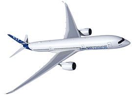 Airbus A350-900 1:144 Scale Model Kit Figurines and Sets
