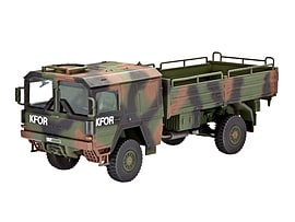 LKW 5T 4x4 Truck 1:72 Scale Model Kit Figurines and Sets