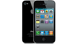 APPLE IPHONE 4S 16GB BLACK SIM FREE UNLOCKED SMARTPHONE Phones