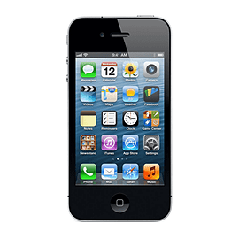 APPLE IPHONE 4 16GB BLACK SIM FREE UNLOCKED SMARTPHONE Phones