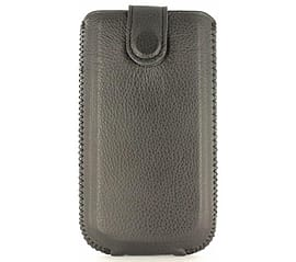 SWISS CHARGER Autolift (SCP10072) - black - Universal leather case (Size M) (SCP10072) Mobile phones