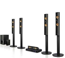 LG LHB755W - Connected 3D Blu-ray Home Theatre System (LHB755W) TV and Home Cinema