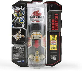 Bakugan Gundalian Invaders II Bakugan - Black and Beige Figurines and Sets