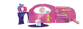 Disney Inside Out Headquarters Playset Figurines and Sets