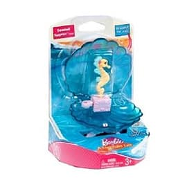 Barbie in andquot;The Magic Pearlandquot; Blue Shell Seahorse Figurines and Sets