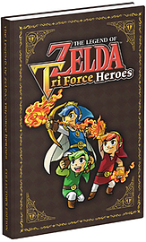 The Legend of Zelda: Triforce Heroes Collector's Edition Guide Strategy Guides and Books
