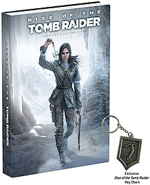 Rise of the Tomb Raider Collector's Edition Strategy Guide Strategy Guides and Books