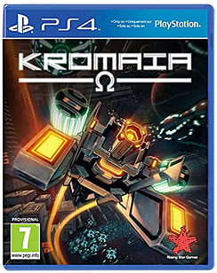 Kromaia Omega PlayStation 4 Cover Art