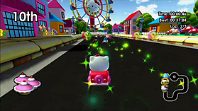 Hello Kitty Kruisers screen shot 10