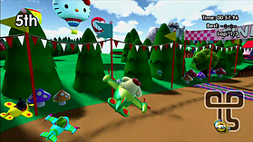 Hello Kitty Kruisers screen shot 11