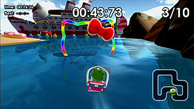 Hello Kitty Kruisers screen shot 4