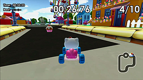 Hello Kitty Kruisers screen shot 6