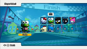 Hello Kitty Kruisers screen shot 7