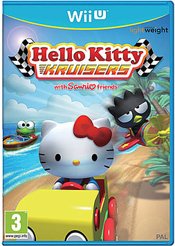 Hello Kitty Kruisers Wii U Cover Art