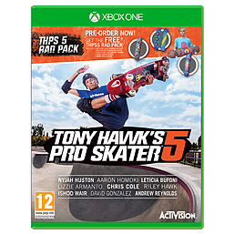 Tony Hawk's Pro Skater 5 with Preorder Rad Pack XBOX ONE