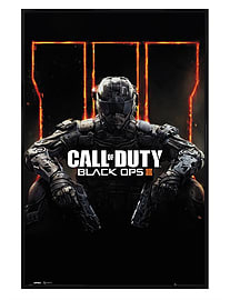 Call of Duty Gloss Black Framed Black Ops 3 COD Maxi Poster 61x91.5cm Posters