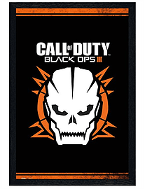 Call of Duty Black Wooden Framed Black Ops 3 COD Maxi Poster 61x91.5cm Posters