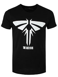 The Last Of Us Firefly Logo Black Men's T-shirt: Extra Large (Mens 42- 44) Clothing