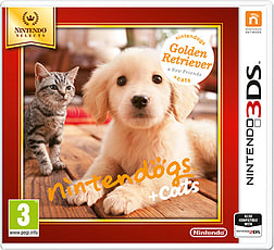 Nintendogs + Cats - Golden Retriever (Nintendo Select) 3DS