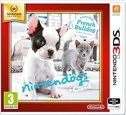 Nintendogs + Cats - French Bulldog (Nintendo Select) 3DS