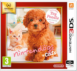 Nintendogs + Cats - Poodle (Nintendo Select) 3DS