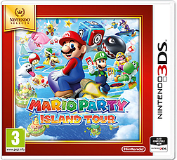 Mario Party: Island Tour (Nintendo Selects) 3DS Cover Art