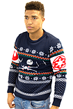 Star Wars Battle Of Yavin Christmas Jumper - Extra Small screen shot 1
