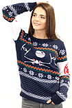Star Wars Battle Of Yavin Christmas Jumper - Extra Small screen shot 4