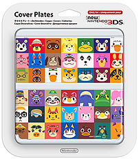 3DS Cover Plate - Animal Crossing Accessories