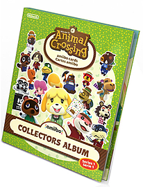 Animal Crossing amiibo Card Collector's Album - Series 1 Accessories Cover Art