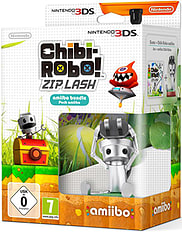 Chibi-Robo! Zip Lash with Chibi-Robo amiibo 3DS
