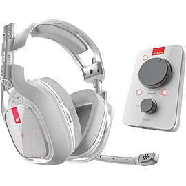 Astro A40 TR Gaming Headset with Mix Amp TR for Xbox One, PC & Mac - White Multi Format and Universal