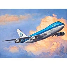 Boeing 747-200 Aircraft 1:450 Scale Model Kit Figurines and Sets