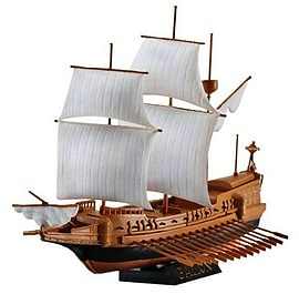 Spanish Galleon 1:450 Scale Model Kit Figurines and Sets