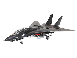 F14A Tomcat Bunny (Black) 1:144 Scale Model Kit Figurines and Sets