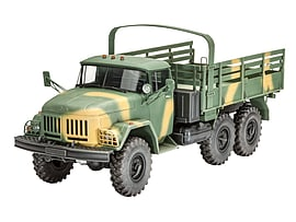 Zil-131 Truck Model 1:35 Scale Model Kit Figurines and Sets