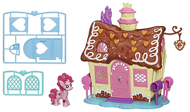 My Little Pony Pinke Pie Sweet Shoppe Playset Figurines and Sets