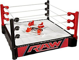 WWE Double Attack Total Control Takedown Playset Figurines and Sets